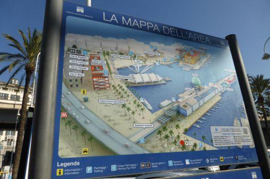 Im Hafen konzentrieren sich die Sehenswürdigkeiten.