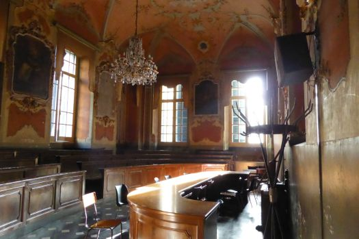 Kleiner Hörsaal.