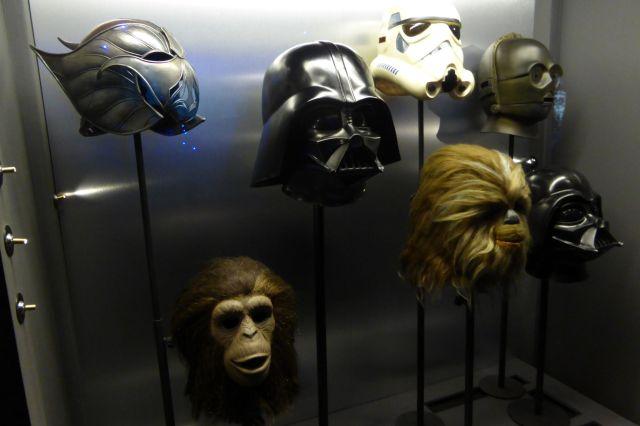 Maskensammlung.