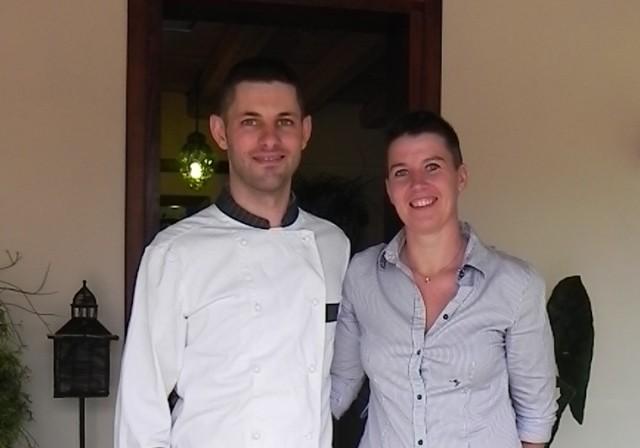 Francesco und Sara.