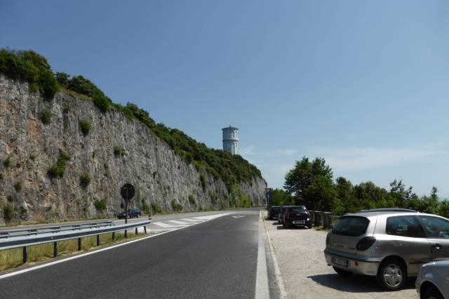 Der Leuchtturm von Triest.