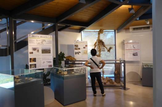 Ein kleines Museum ist im Empfangsgebäude untergebracht.