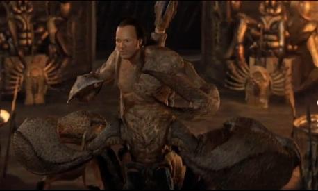 """""""Scorpion King"""": Der gurkigste aller Gurkenfilme mit den anerkannt schlechtesten Computereffekten aller Zeiten."""