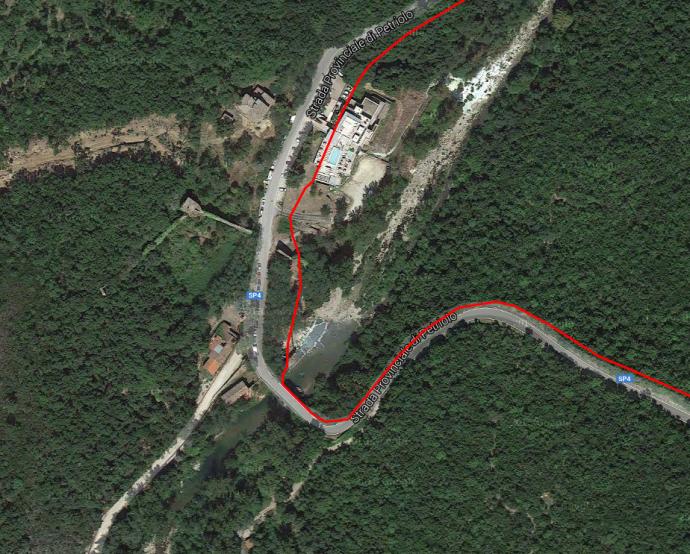 Badebecken unterhalb eines teuren Thermal-Spas: Bagni di Petrolo bei 43.079250, 11.299781