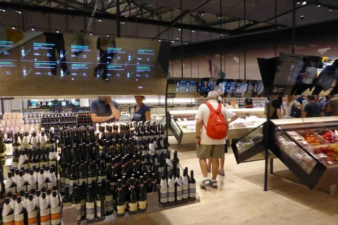 ...im Supermarkt der Zukunft.