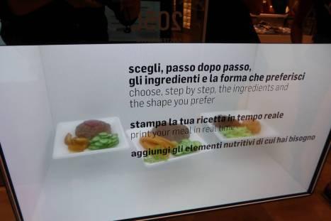 Essen aus dem 3D-Drucker...