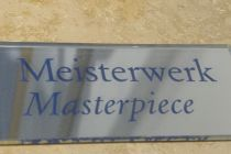 Im Deutschen Museum gibt es viele Meisterstücke, dieses Schild ist kein.