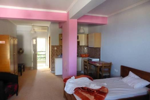 Ein Traum in Pink: Motel in Nafplion.