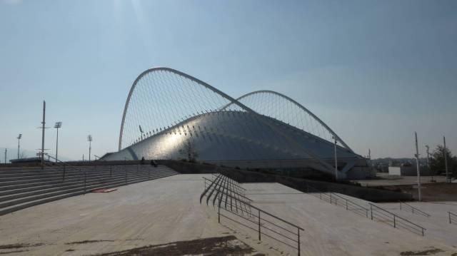 Typisch: Calatravabauten enthalten immer Elemente, wie man sie eher an Brücken vermuten würde.