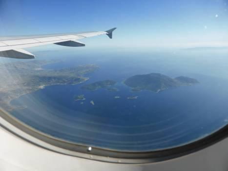 Griechische Inseln von oben!