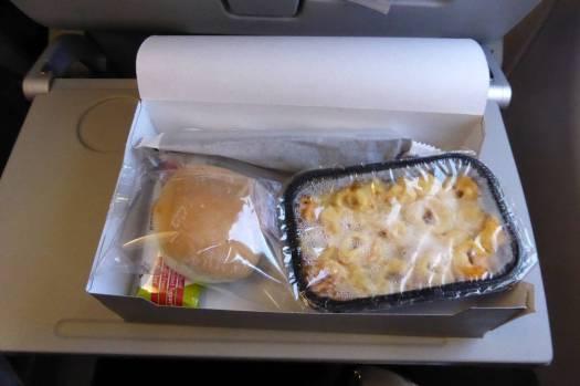 Lecker Flugzeugessen ist wirklich lecker!