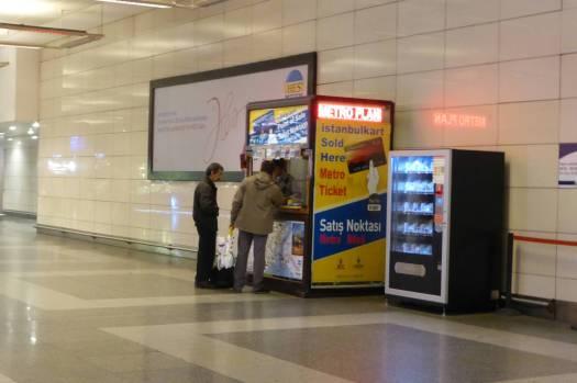 Die Istanbulkart ist unverzichtbar zur Nutzung des ÖPNV.