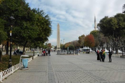 Hippodrom mit Obelisk und Konstantinsstange.