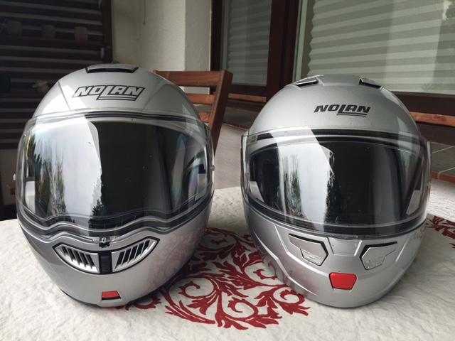 Der neue N104 links, der alte N90 rechts.