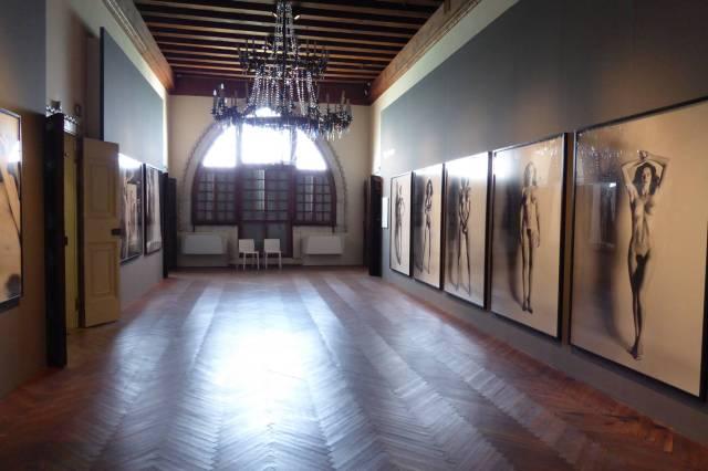 Newton im Palazzo  Tre Oci in Venedig.