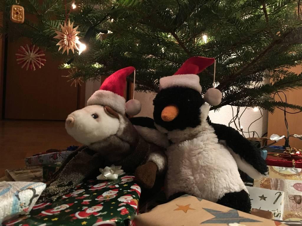 Die Gang wünscht frohe Weihnachten.