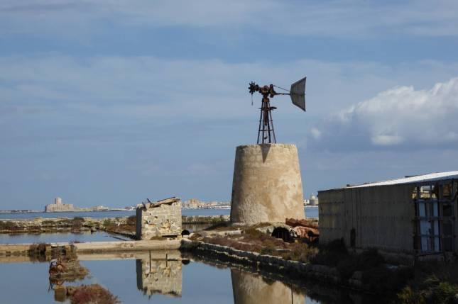 Vom Salz zerfressen: Amerikanische Mühle.