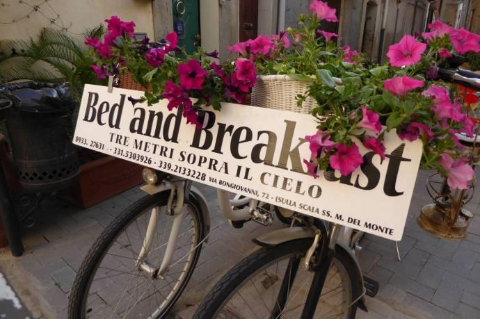 """Bred and Breakfast """"Drei Meter unter dem Himmel"""" - und das stimmt wirklich!"""
